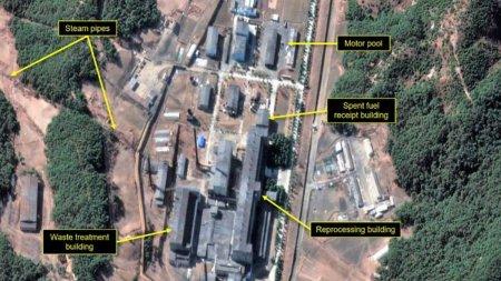 Vesti alarmante despre reactorul unde Coreea de Nord produce plutoniu pentru bombele a<span style='background:#EDF514'>TOMI</span>ce