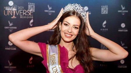 Cine este castigatoarea Miss Univers Romania 2021. Cum a impresionat juriul