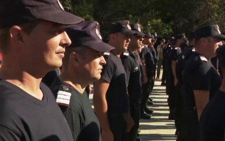 Pompierii romani s-au intors acasa, dupa a doua misiune de stingere a incendiilor devastatoare din Grecia