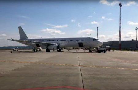 Un avion cu 107 pasageri la bord a aterizat la Iasi dupa ce s-a stricat sistemul de navigatie