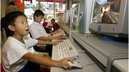 In China, copiii nu mai au voie sa se joace online mai mult de 3 ore pe saptamana