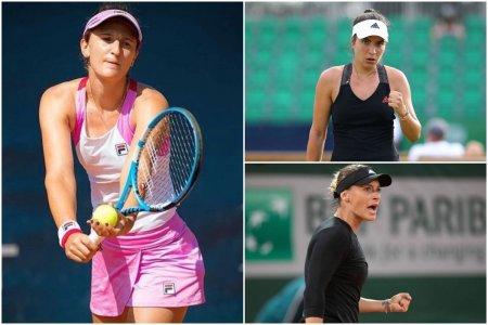 Irina Begu, Gabriela Ruse si Ana Bogdan joaca in turul 1 de la US Open