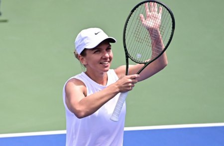 US Open 2021. Simona Halep a invins-o pe Camila <span style='background:#EDF514'>GIORGI</span> 6-4, 7-6 si s-a calificat in turul 2