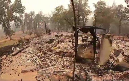 Mii de persoane au fost evacuate dintr-o zona turistica din <span style='background:#EDF514'>CALIFORNIA</span>, amenintata de incendiul Caldor Fire