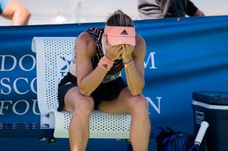 Gabriela Ruse si <span style='background:#EDF514'>ANA BOGDAN</span>, eliminate in turul 1 la US Open » Meciul Anei intra in istorie