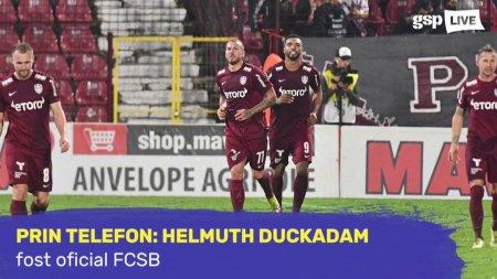 <span style='background:#EDF514'>HELMUT</span>h Duckadam il critica din nou pe Andrei Vlad: A gresit la doua goluri. Are nevoie de psiholog!