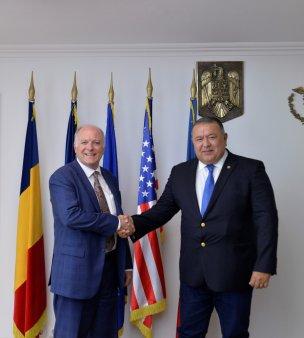 Intalnirea de lucru a Presedintelui CCIR, Mihai Daraban cu Atasatul Comercial al Ambasadei SUA la Bucuresti, Thomas Hanson