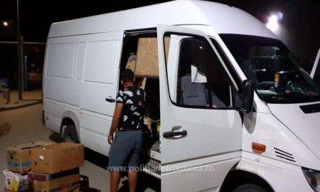 Duba condusa de un buzoian, urmarita de politisti si oprita la Mangalia, dupa ce a fortat intrarea in tara pe la <span style='background:#EDF514'>VAMA VECHE</span> si era sa calce un agent
