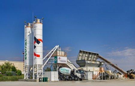 Holcim deschide o statie ecologica de betoane in localitatea Tunari, langa Capitala, unde va fabrica betoane cu 30% mai putine emisii de dioxid de carbon. Compania mai detine inca cinci unitati de acest gen in zona Bucuresti-Ilfov