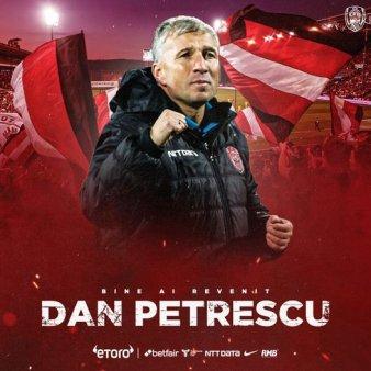 Dan Petrescu, anuntat oficial la CFR Cluj