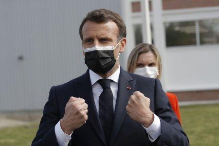 Politico: Macron a riscat, mizand pe certificatul de vaccinare COVID. Situatia de azi din Franta arata ca a castigat