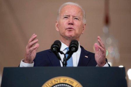Joe Biden isi apara decizia privind  Afganistan: Alegerea a fost intre retragere si esca<span style='background:#EDF514'>LADA</span>re