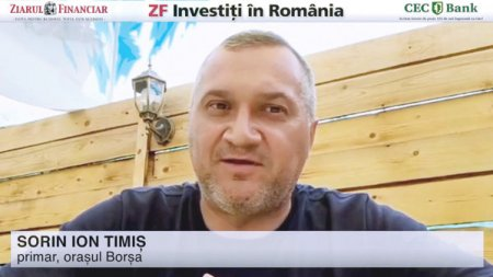 ZF Investiti in Romania! Sorin Ion Timis, primar, Borsa: Toti cei 29.000 de locuitori ai orasului pot plati taxele si impozitele si pot obtine documente si chiar autorizatii de construire de la distanta