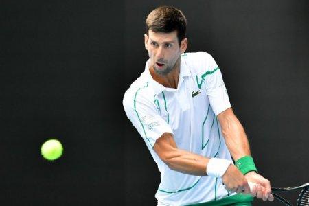 US Open 2021: Novak Djokovic a rapus un pusti venit din calificari