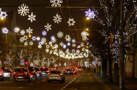 Luminitele de Craciun din Bucuresti vor fi