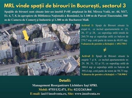 Publicatie de vanzare Romagra SA Bucuresti (P)