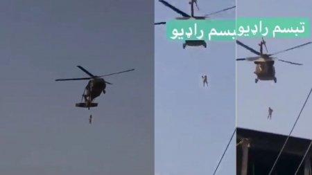 <span style='background:#EDF514'>SPANZURAT</span> de talibani cu elicopterul la Kandahar! Politicieni de varf din SUA au raspandit un fake news si apoi si-au sters postarile