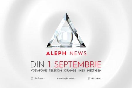 EXCLUSIV: Un an de Aleph News. Un an cu <span style='background:#EDF514'>AUDIENTE</span> de zero puncte de rating