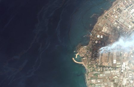 Scurgerea de petrol din Marea Mediterana de la o rafinarie din Siria ajunge in Cipru