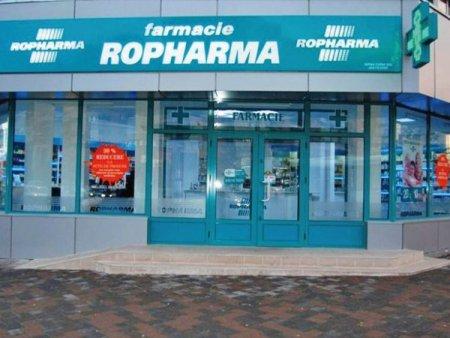 Lantul de farmacii Ropharma a incheiat S1/2021 cu profit net de 1,45 mil. lei, minus 4,6%, la venituri de 223 mil. lei