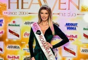 Fosta Miss Romania 2016, acum serveste la mese! Ioana Filimon si-a deschis o cafenea