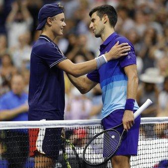 Un danez de 18 ani i-a luat set lui Djokovic la US Open