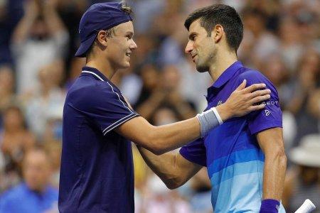 Turbulente pentru Novak Dkokovic in primul tur de la US Open + victorii pentru Emma Raducanu si Bianca <span style='background:#EDF514'>ANDREESCU</span>