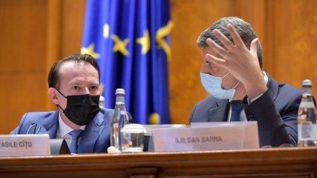 Dan Barna l-a amenintat pe premierul Florin Citu cu motiunea de cenzura, la sedinta de guvern