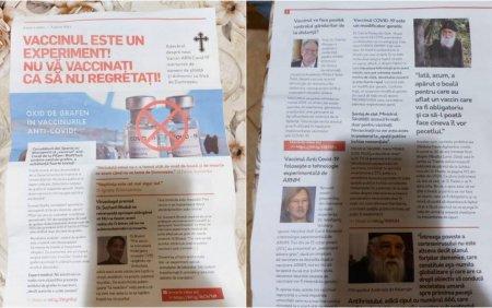 Dosar penal pentru distribuire de informatii false in Alba dupa aparitia mai multor reviste anti-vaccin