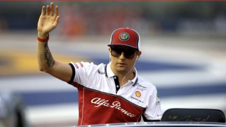 Raikkonen se retrage din Formula 1
