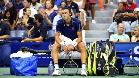 US Open 2021. Danezul Rune a venit la meciul cu Djokovic cu sacosa de la Ikea