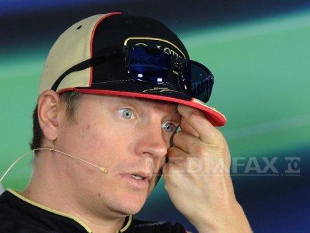 <span style='background:#EDF514'>KIMI</span> Raikkonen paraseste Formula 1 la sfarsitul sezonului