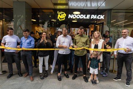 (P) Noodle Pack continua extinderea la nivel national. S-a deschis al 31- lea restaurant din retea