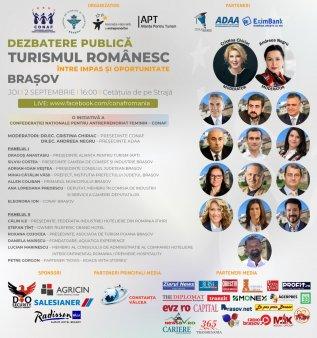 Brasov – Turismul romanesc: intre impas si oportunitate- dezbatere publica care pune accent pe solutiile de revenire a turismului in era post-pandemie