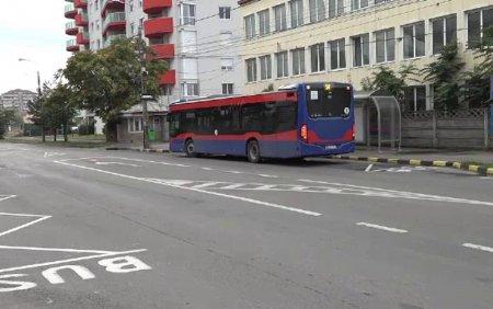Șofer de autobuz, luat la bataie de sase minori, la Oradea. Barbatul le-a atras atentia ca nu poarta masca