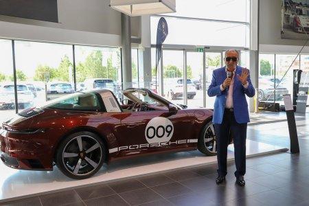 Țiriac si-a cumparat un Porsche de 200.000 de euro de colectie.