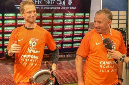 Giedrius Arlauskis, OUT de la CFR Cluj! Informatii de ultima ora din <span style='background:#EDF514'>GRUIA</span>
