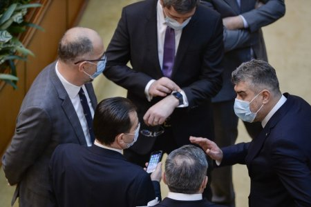 Cum arata calculele in Parlament, in cazul motiunii de cenzura. Un front comun PSD-USR-PLUS ar darama Guvernul Citu