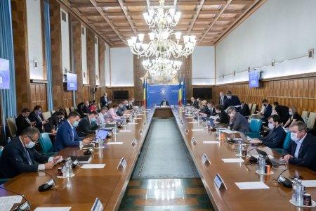 Prima sedinta de guvern dupa declansarea crizei va avea loc vineri la ora 16:00
