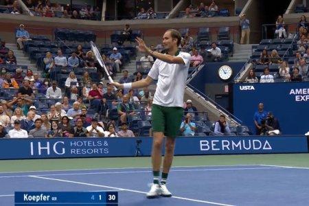 Daniil Medvedev, executie de pe alta planeta la US Open! Cele mai tari 5 lovituri ale zilei