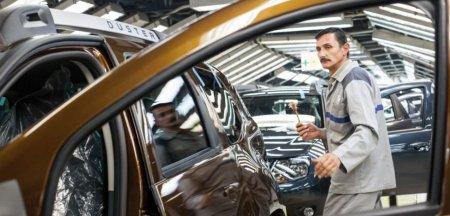 Uzina Dacia de la Mioveni si-a oprit din nou activitatea. Mii de angajati au fost trimisi acasa