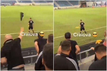 FCU Craiova face apel dupa amenda primita pentru pantoful aruncat de un fan in arbitru: Nu a fost verificata veridicitatea imaginilor