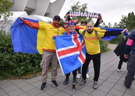 Lupta, goluri, victorie! » Ne simtim ca acasa la Reykjavík. Se aude puternic: Romania, Romania, Romania!