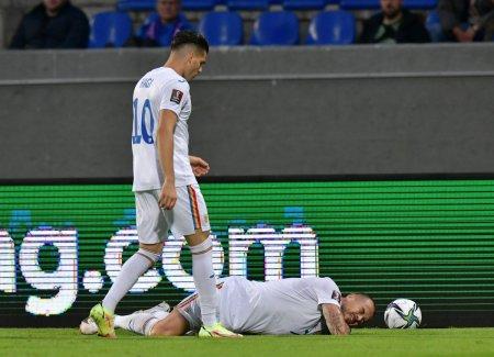 Pierdere majora pentru Mirel Radoi » Denis Alibec s-a accidentat in disputa cu Islanda! Debut pentru <span style='background:#EDF514'>MARKO</span>vic