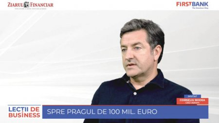 ZF/First Bank Lectii de business. Corneliu Bodea, Adrem: Vrem sa ajungem la 100 mil. euro. Energia verde, eficienta si <span style='background:#EDF514'>ECONOMIA CIRCULARA</span> vor fi starurile urmatorilor zeci de ani