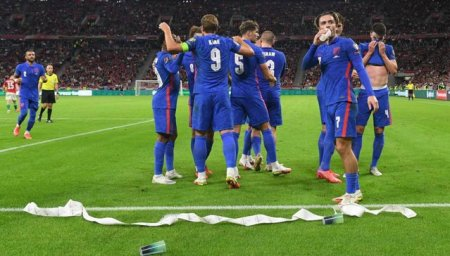 Rasism, fluieraturi si obiecte aruncate in teren la meciul Ungaria-Anglia
