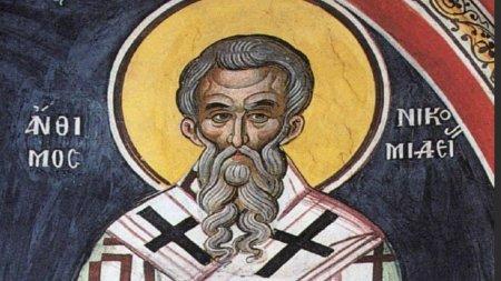 Calendar ortodox 3 septembrie 2021. Sarbatoare cu cruce neagra la ortodocsi