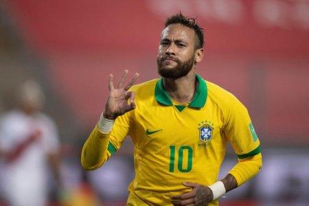 Brazilia lui Neymar si Argentina lui Messi, victorii in deplasare