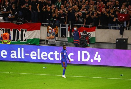 Jucatorii englezi, tinta manifestarilor rasiste la Budapesta. Vom solicita FIFA sa investigheze problema