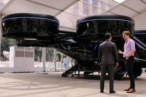 Taxiurile zburatoare sunt in teste. Ajung la 320 km/h